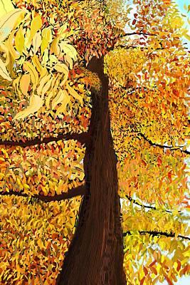 Digital Art - Up Tree by Douglas Day Jones