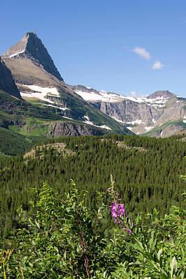 Us, Mt, Glacier National Park Art Print by Trish Drury