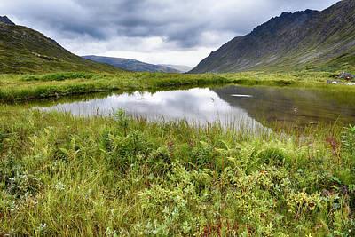 Gold Mining Photograph - Usa, Alaska, Hatchers Pass by Savanah Stewart