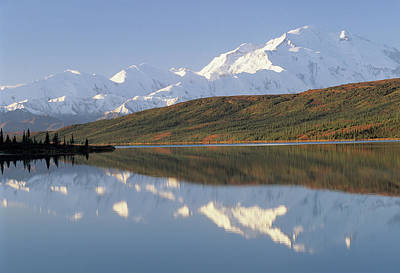 Usa, Alaska, Mount Mckinley, Wonder Art Print by Gerry Reynolds