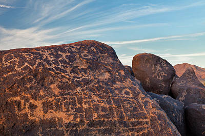 Painted Rocks Photograph - Usa, Arizona, Gila Bend by Jaynes Gallery