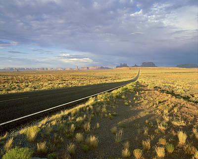 Usa, Arizona, Monument Valley Navajo Print by Tips Images