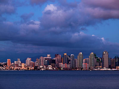 Embarcadero Photograph - Usa, California, San Diego by Ann Collins