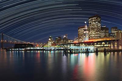 Bay Bridge Photograph - Usa, California, San Francisco by Jaynes Gallery