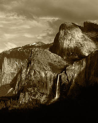 Cathedral Rock Photograph - Usa, California, Yosemite National by Adam Jones