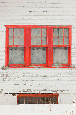 Ski House Wall Art - Photograph - Usa, Colorado, Crested Butte, House by Walter Bibikow