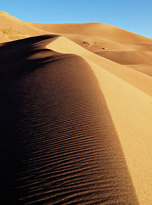 Great Sand Dunes Photograph - Usa, Colorado, Great Sand Dunes by Ann Collins