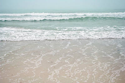 Usa, Florida, Sarasota, Crescent Beach Art Print by Bernard Friel