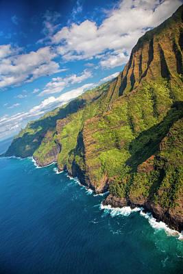 Usa, Hawaii, Kauai, Aerial Art Print
