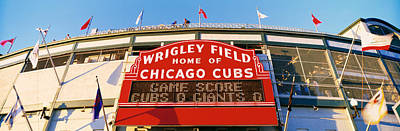 Friendly Confines Photograph - Usa, Illinois, Chicago, Cubs, Baseball by Panoramic Images