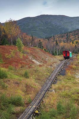 Mt. Washington Photograph - Usa, New Hampshire, White Mountains by Walter Bibikow