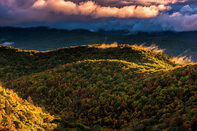 Pisgah Photograph - Usa, North Carolina, Brevard by Jaynes Gallery