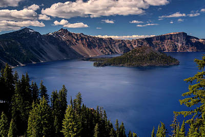 Crater Lake National Park Photograph - Usa, Oregon, Crater Lake National Park by Jaynes Gallery