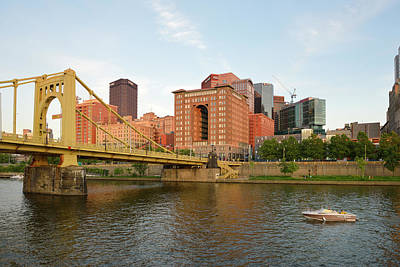 Allegheny River Photograph - Usa, Pennsylvania, Pittsburgh by Kevin Oke