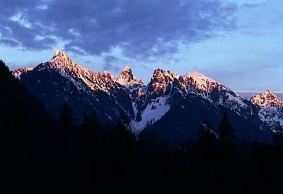 Cascade Mountains Snoqualmie National Forest Photograph - Usa, Washington State, Mount by Paul Souders