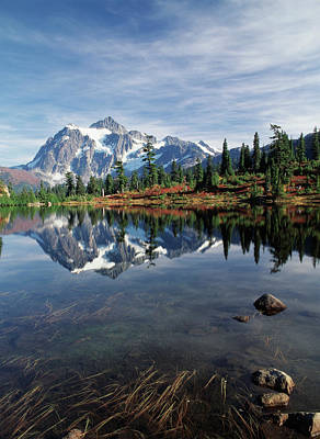 Usa, Washington State, North Cascades Art Print by Stuart Westmorland