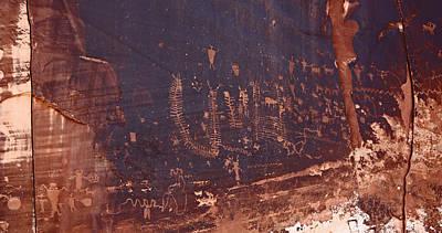 Utah Rock Art Art Print