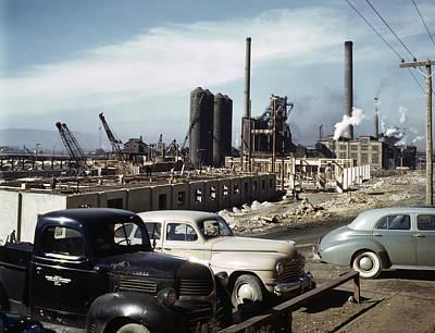 Utah Steel Mill, 1942 Art Print by Granger
