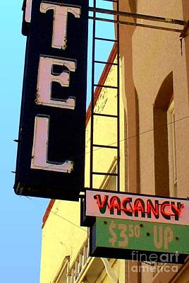 Digital Art - Vacancy by Valerie Reeves
