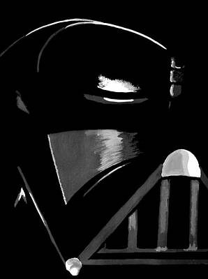 Darth Vader Painting - Vader by Dale Loos Jr