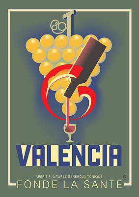 Digital Art - Valencia by Gary Grayson