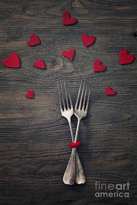 Fourteenth Photograph - Valentines Dinner by Mythja  Photography