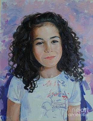 Painting - Valeria by Sefedin Stafa