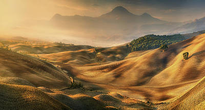 Valley Wall Art - Photograph - Valley... by Krzysztof Browko