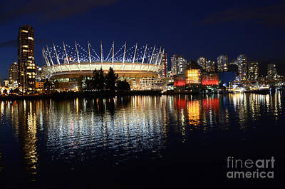 Vancouver British Columbia 3 Art Print