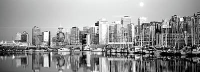 Harbor Dock Photograph - Vancouver, British Columbia, Canada by Panoramic Images