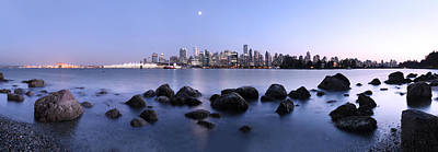 Vancouver From Stanley Park Art Print