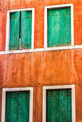 Venetian Houses Art Print