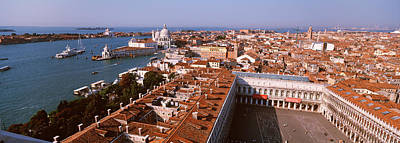 Ancient Apartments Photograph - Venice, Italy by Panoramic Images
