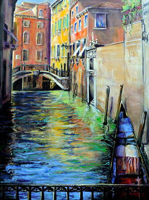 Painting - Venice  by Jodie Marie Anne Richardson Traugott          aka jm-ART