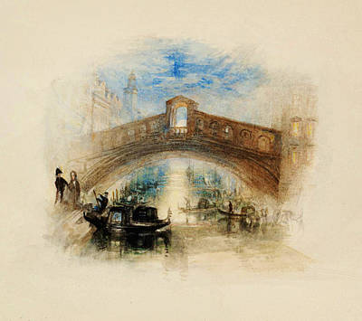 Turner Artwork Painting - Venice by Celestial Images