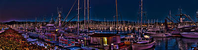 Photograph - Ventura Harbor by Richard J Cassato