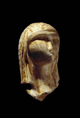 European Ivory Carving Photograph - Venus Of Brassempouy, Stone Age by Science Photo Library