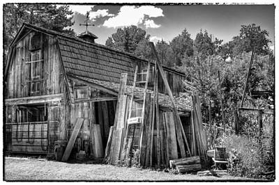 Photograph - Vic's Barn II by David Patterson