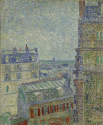 Painting - View From Theo's Apartment by Vincent Van Gogh