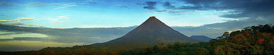 Arenal Photograph - View Of Arenal Volcano National Park by Panoramic Images