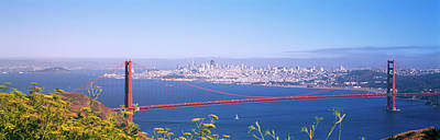 View Of The Golden Gate Bridge, San Art Print by Panoramic Images
