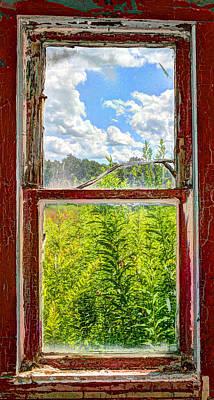 View Through A Window Art Print