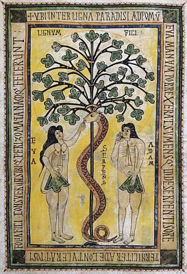 Fine Art Miniatures Photograph - Vigilian Or Albelda Codex. 10th C by Everett