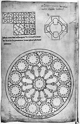 Villard De Honnecourt (c1225-1250) Art Print by Granger