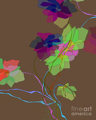 Digital Art - Vines by Ursula Freer