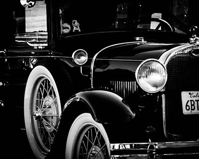 Photograph - Vintage Car by Mickey Clausen