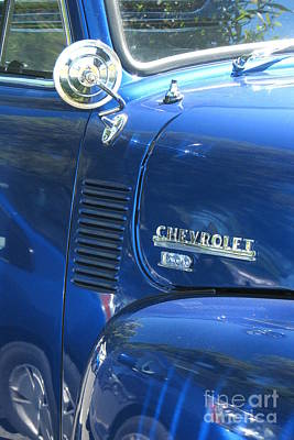 Photograph - Vintage Chevy by Frank Townsley