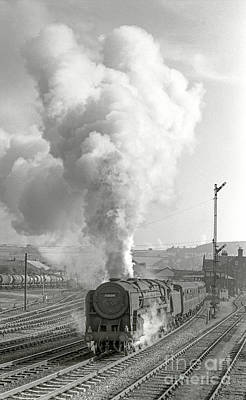 Photograph - Vintage Steam Locomotive 70004 by David Birchall