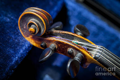 Violin In Its Case Art Print by Brian Jannsen