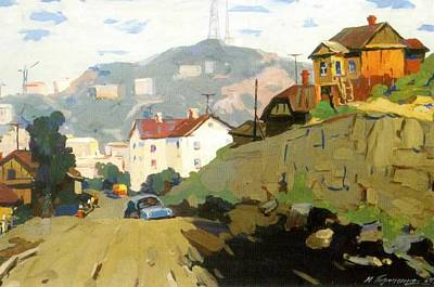 Vladivostok Vintage Prints Art Print by Jake Hartz